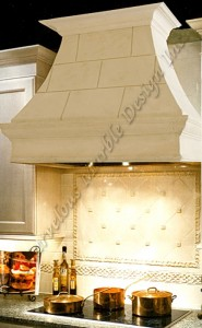 parma stone range hood by Marvelous